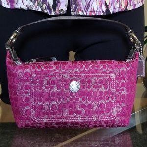 Cute COACH Signature Mini bag